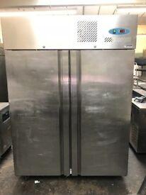 Commercial double doors upright fridge, scanfrost catering fridge