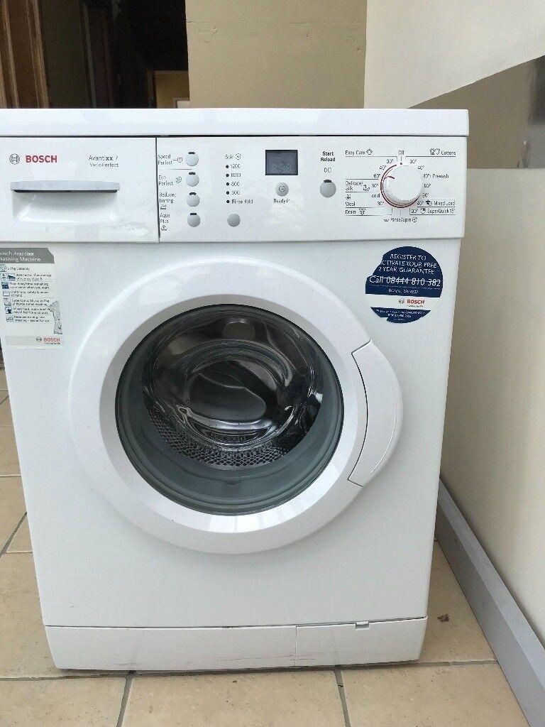 Bosch Avantixx 7 Varioperfect Washing Machine - great condition