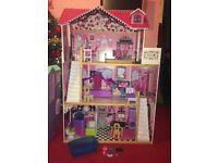 ELC Large Wooden Dolls House