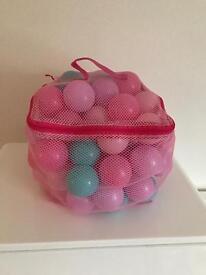 Bag of ball pit balls - approached x 150 balls