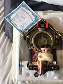 Betty boop cookoo clock