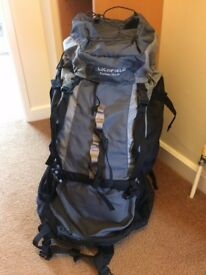 Lichfield Explorer Rucksack Backpack massive 70L & 10L capacity heavy duty. Excellent condition