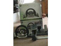 Xbox 360 wireless racing wheel (2 of)