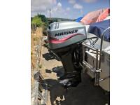 Atlantic Fisher480 fishing Boat with 40 four stroke mariner and aux