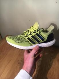 Adidas Ultraboost 1.0 solar yellow uk 8