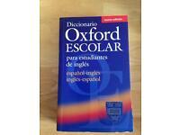 Diccionario Oxford Escolar para estudiantes de inglés (español-inglés / inglés-español)