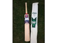 Brand new and some used English willow bats match quality. few child size.