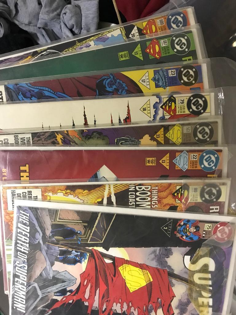 DC comic lot