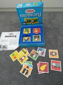 Thomas the tank engine memory card game