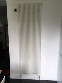 Acova single tube white radiator.