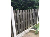 "9x 6""4 fence panels"