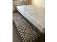 Single Guest Bed With Diamond Ortho & 2nd Mattress