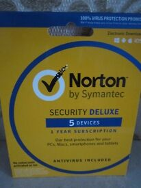NORTON SECURITY FOR 5 DEVICES