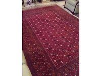 Handmade afgan/turkaman rug