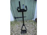 Unusual,Solid Welded Steel,Patio/Garden Stand.( Approx 32 inches high).