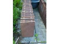 """29 reclaimed """"keele"""" clay roof tiles"""