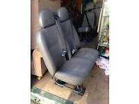 Ford Transit Mk6 (2002) Minibus Seats with Seatbelts and Headrests