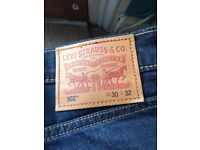 Levi's 502 Reg Taper City W30 L32 bought one month ago with receipt
