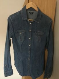 Miss Sixty Denim Shirt / Jacket (Size 10/12)