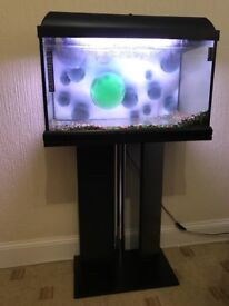 Fish Tank and Stand complete with lighting canopy