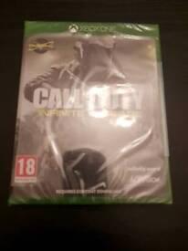 Call of duty infinite warfare Xbox one brand new