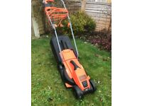 Black and Decker electric rotary mower 32cm