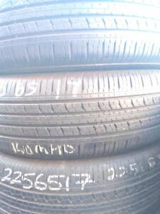 P225/65R17 X4 KUMHO SOLUS K 16 USED FOR SALE
