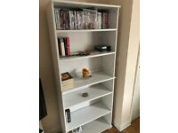 IKEA White Freestanding Bookshelf, Good Condition