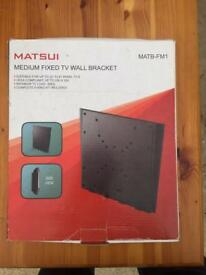 Matsui medium fixed tv wall bracket