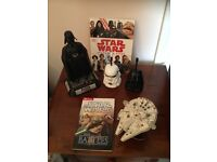 Star Wars items ( including walkie talkies, model and books