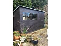 Handmade Solid Pine Shed *Reduced*