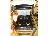 Gas cooker, free delivery, eye level grill. £140