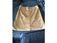 River island suede skirt size 6