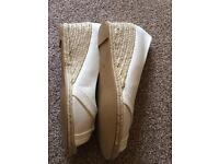 Fiore canvas wedge size 7 brand new