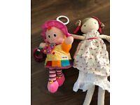Lamaze doll + M&S doll