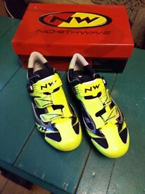 Northwave Galaxy carbon road cycling shoes (EU 46)