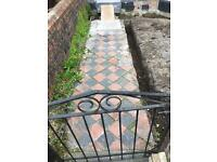 Victorian front path tiles 15x15cm - REDUCED! £50