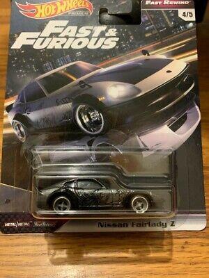 2019 Hot Wheels Premium Fast & Furious Fast Rewind Series #4/5 Nissan Fairlady Z