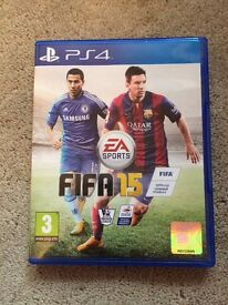 Fifa 15 game for PS4 - excellent condition - used