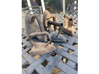 5 Antique flat irons
