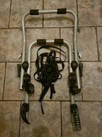Universal 3 Bicycle Rear Mounted Bike Rack