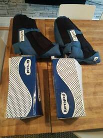 Healthcare kerraped boots SIZE LARGE in very good condition pair of boots £15 sinfin