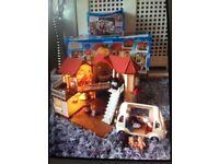Sylvanian families bundle beechwood hall , furniture , figures , ice cream van