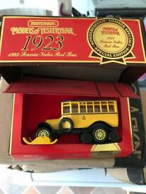Brand new in box matchbox models of yesteryear