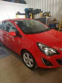2013 red corsa