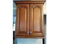 Chestnut cupboard doors