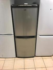Silver hotpoint fridge freezer
