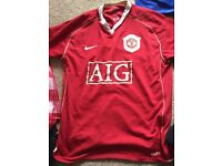 Man united 2008 shirt