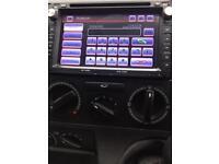 VW T5 XTRONS DVD/SATNAV/Bluetooth stereo