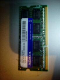 4 gb laptop memory